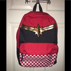 "Vans ""Captain Marvel"" backpack"